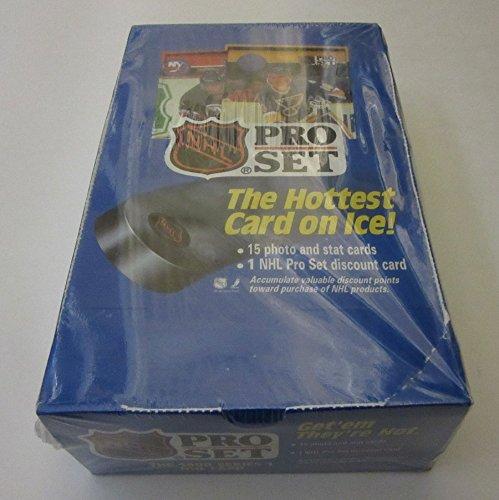 1990/91 Pro Set Hockey Series 1 Box