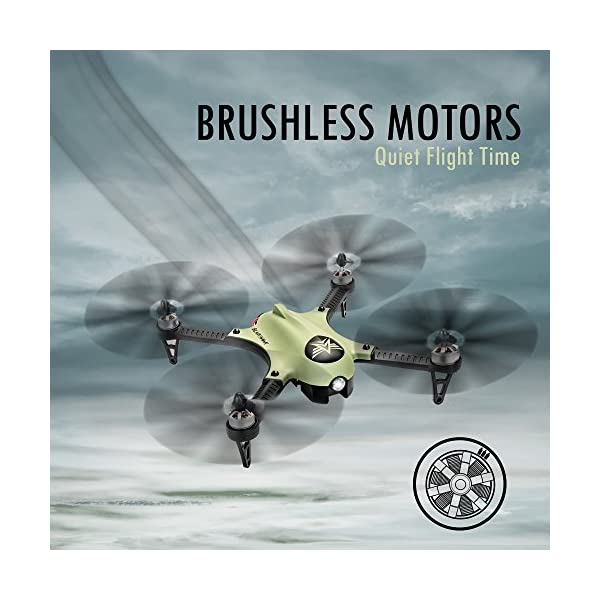 4c00714437d ... Time Drone w Camera Mount (GoPro Hero3 and Hero 4 Compatible) Extreme  Speed & Handling, Heavy Duty Construction, Powerful Quadcopter. Amazon Prime