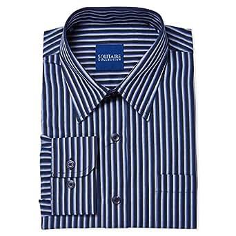 Solitaire Shirt for Men - Blue
