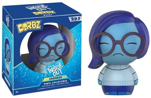 Inside Out Sadness Toy Figures 12402 Accessory Toys /& Games Miscellaneous Funko Dorbz