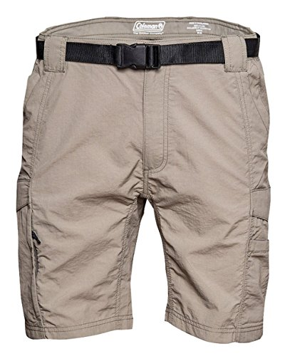 - Coleman Men's Outdoor Hiking Nylon Cargo Shorts (X-Large, Eucalyptus)