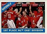 Washington Nationals 2015 Topps Heritage MLB Baseball Complete Mint Basic 12 Card Team Set with Bryce Harper Team Checklist Card Plus
