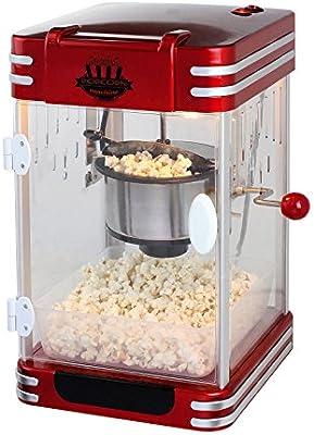 Maquina de hacer palomitas de maiz palomitero XXL acero sistema ...