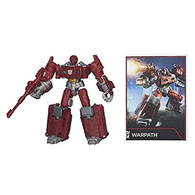 Transformers B1798AS0 Warpath Figure Combiner Wars