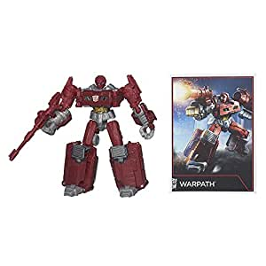 Transformers B1798AS0 Warpath Figure Combiner Wars