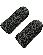 10 st, icke-glidande Sn Controller Sweat-Proof Game Sleeve Sn Toutch Gaming Glove Typ B Svart Black Edge