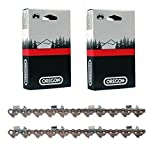 2 Pack, Genuine Oregon Chain, 72JGX091G 91 Drive Link Super Guard Skip Sequence Chain (for 28'' Stih bar) , 3/8-Inch Pitch, .050'' Gauge. Skip version of 33RSF91
