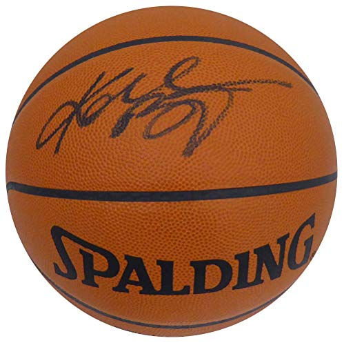 Kobe Bryant Autographed Spalding Official Leather NBA Basketball Los Angeles Lakers Rookie Era Signature PSA/DNA #1A61559 ()