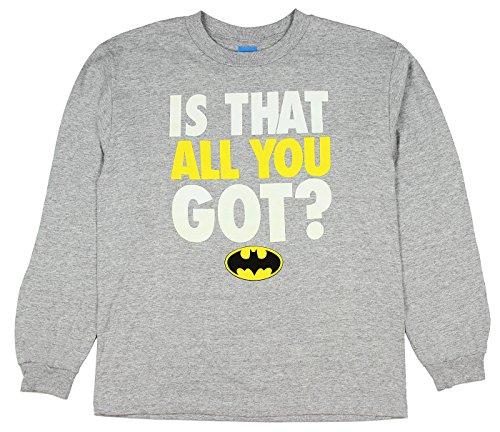 DC Comics Batman Superhero is That All You Got Youth Boys Lo