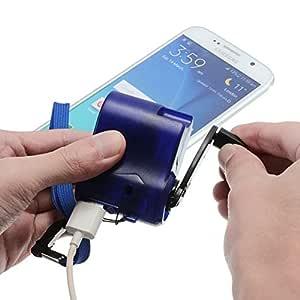 ZAK168 - Cargador de manivela de Mano portátil para teléfono móvil ...