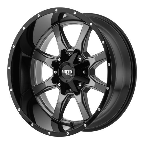 ford 8 lug black rims - 9