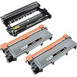 Sotek Compatible Brother TN630 TN660 DR630 (2 Toners +1 Drum Unit), Work With Brother MFC-L2740DW DCP-L2520DW DCP-L2540DW MFC-L2700DW MFC-L2720DW HL-L2300D HL-L2320D HL-L2360DW HL-L2380DW HL-L2340DW
