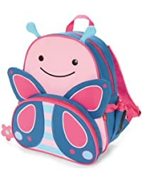 """Zoo Insulated Toddler Backpack Blossom Butterfly, 12"""" School Bag,"""