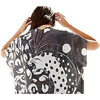 Kimono Paetê Bola Preta