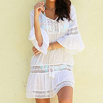 d22a8dd73f XMZJWDA 2018 Sexy Cotton Summer Pareo Beach Cover Up Sexy Swimwear Women  Swimsuit Cover Up Kaftan