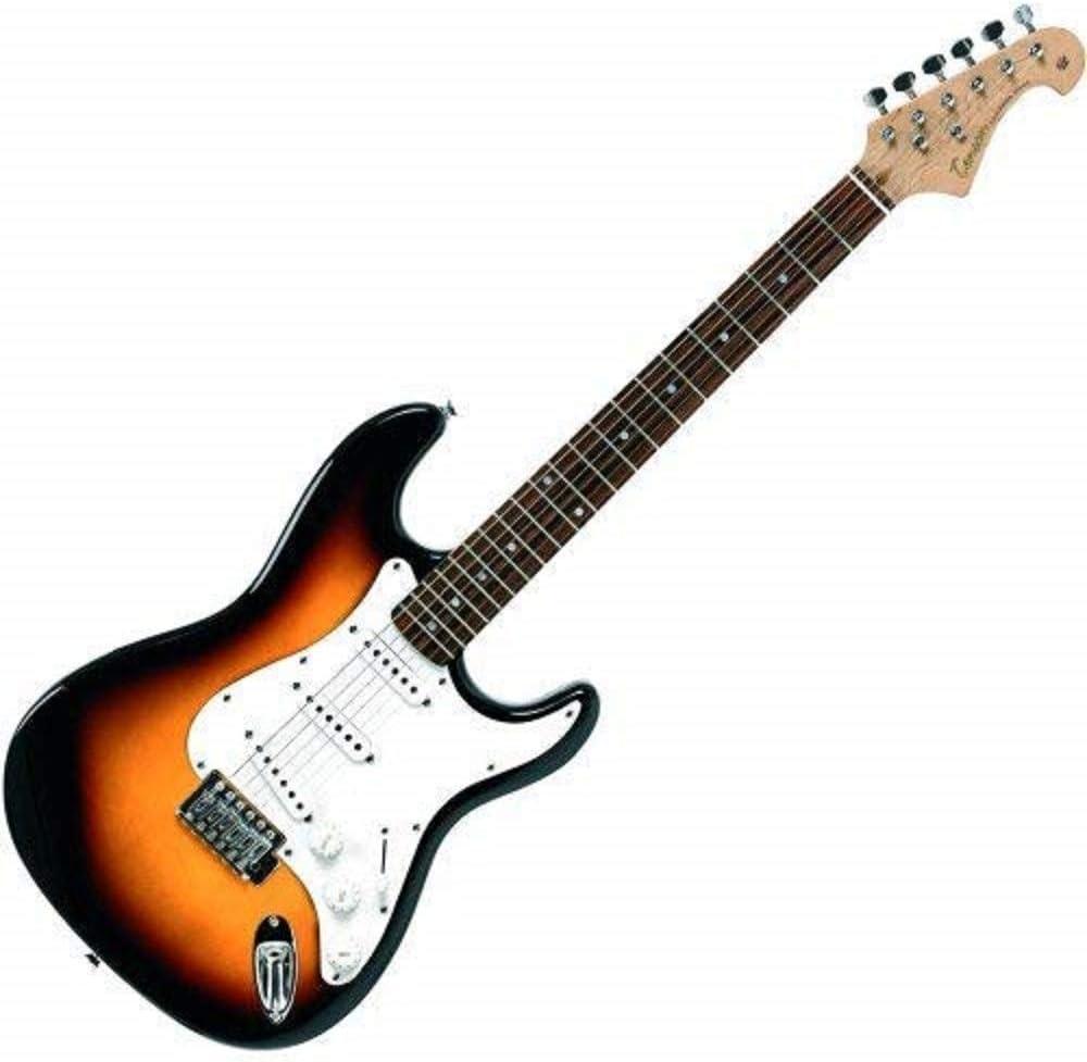 Tenson F503103 - Guitarra eléctrica RC-100, diseño 3-Tone sun burst