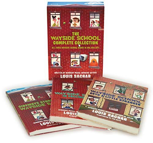 Wayside School Boxed Set: Wayside School Gets a Little Stranger, Wayside School is Falling Down, Sideway Stories from Wayside School (Best Short Story Jokes)