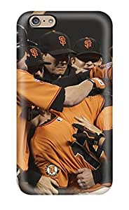 Defender Case With Nice Appearance (san Francisco Giants ) For Iphone 6