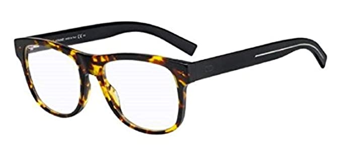 3f0bc022e62 Image Unavailable. Image not available for. Color  Dior Homme Black Tie 244 Havana  Black 0581 Sunglasses