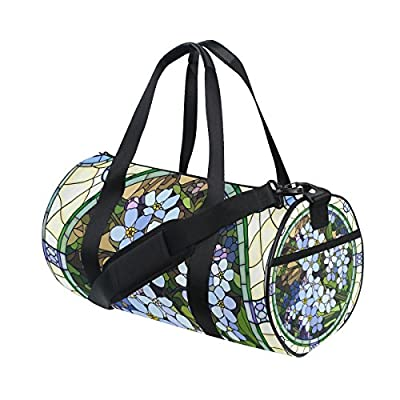 21667a5a6e Gym Bag Vintage Marble Flower Sports Travel Duffel Lightweight Canvas Bags  delicate