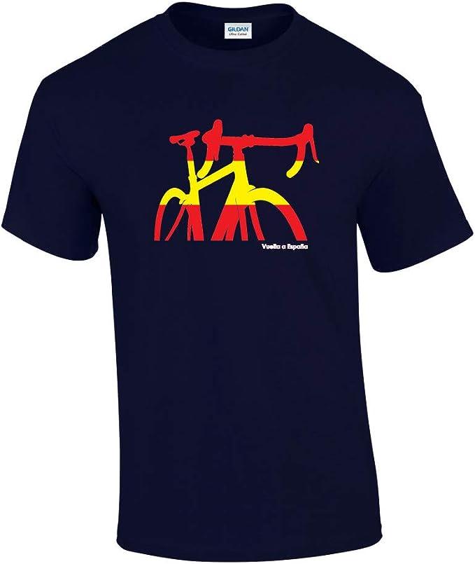 Rinsed Vuelta a España - Camiseta de ciclismo: Amazon.es: Ropa y accesorios