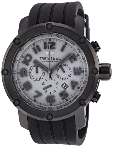 TW Steel Men's TW129 Grandeur Tech Dark Grey Dial Watch 48mm Grandeur Watch