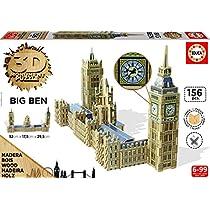 Educa Borrás - Parlamento y Big Ben, puzzle 3D (16971)