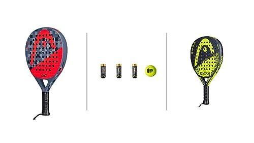 Head Padel Schläger Set Evolution Delta & Flash + 3 Padel Bälle ...
