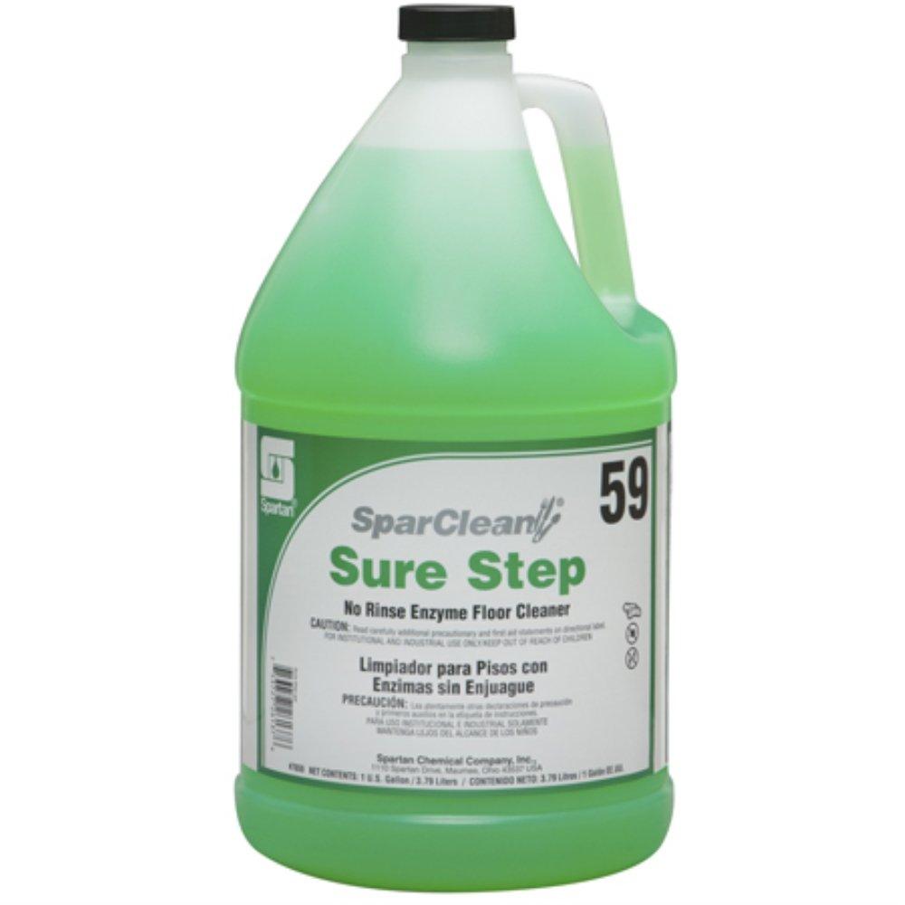Spartan SparClean Sure Step Floor Cleaner, Gallons, 4 Per Case