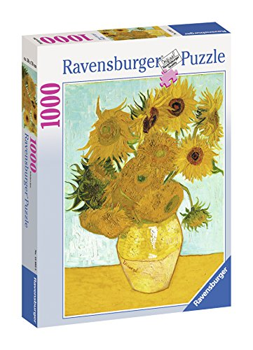 Ravensburger Puzzle 1000 pieces - Vase with Sunflowers - V.Van Gogh (code 15805)