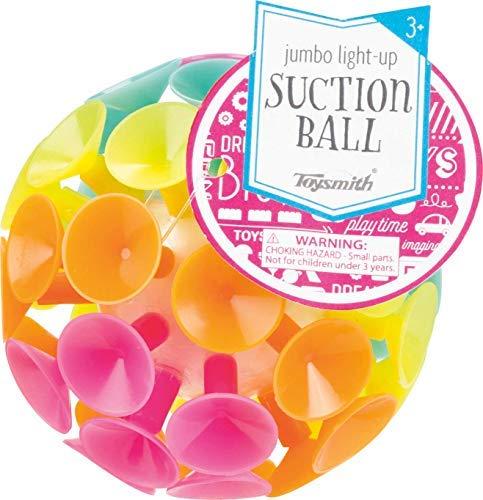 Toysmith Jumbo Light Up Suction Ball -