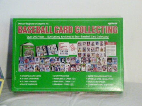 Hygrade Delux/Beginner's Complete Card Collecting Kit 1988