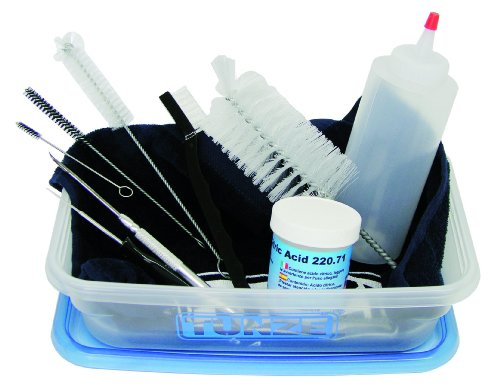 [Tunze USA 0220.700 Cleaning Kit for Aquarium Equipment] (Tunze Brush Set)