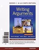 Writing Arguments, Brief Edition, Books a la Carte Edition, Ramage, John D. and Bean, John C., 0133880125