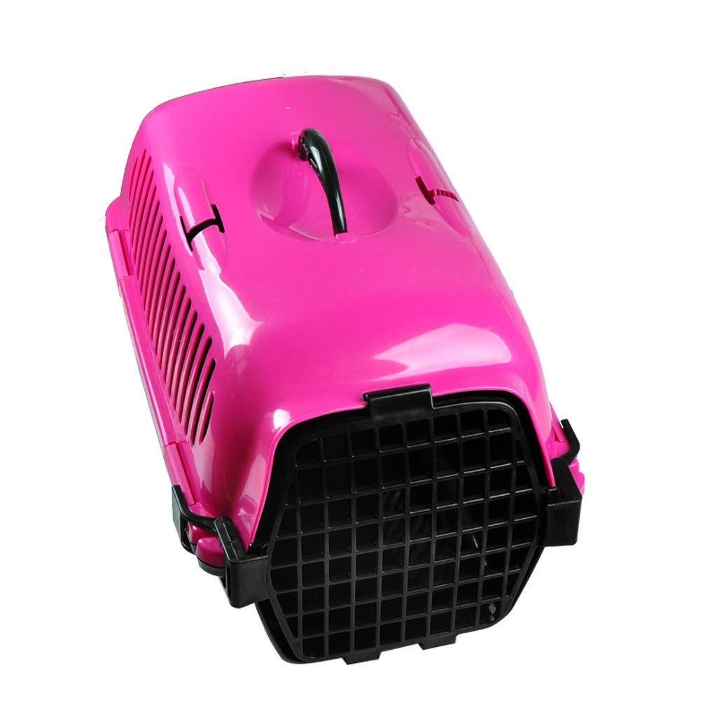 GSAGJcwb ファッションペット航空ボックス猫/小型犬/ハムスターなどの小型ペットに適した携帯用ケージは車の座席に配置することができます