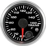 Speedhut GR20-TT02M Trans Temp Gauge 60-150C Metric (With Warning LED), 2-1/16''