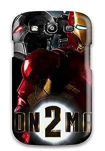 New Design Shatterproof Case For Galaxy S3 (iron Man 2 Widescreen) 8146100K78073242