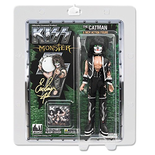"""KISS 8 Inch Action Figures Series Four Monster """"The Catman"""""""