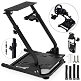 VEVOR G920 Racing Steering Wheel Stand Pro Shifter Mount Logitech G27/G25, G29 Gaming Wheel Stand Thrustmaster,Wheel Pedals NOT Included Racing Wheel Stand (G27/G25/G29/G920)
