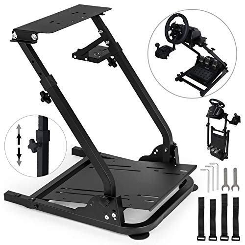 VEVOR G920 Racing Steering Wheel Stand Pro Shifter Mount Logitech G27/G25, G29 Gaming Wheel Stand Thrustmaster,Wheel Pedals NOT Included Racing Wheel Stand