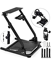 VEVOR G920 Racing Steering Wheel Stand Shifter Mount fit for Logitech G27 G25 G29 Gaming Wheel Stand Wheel Pedals NOT Included Racing Wheel Stand