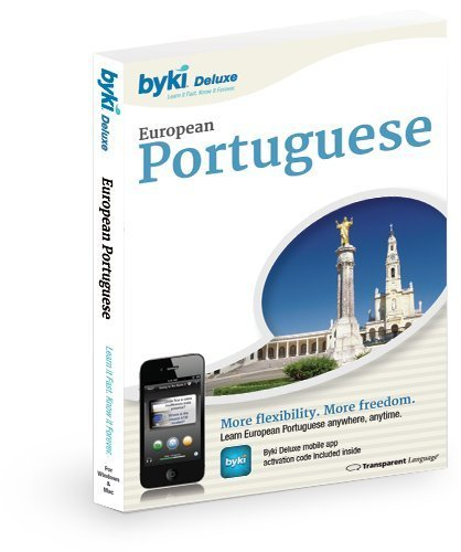 Byki Portuguese (European) Language Tutor Software & Audio Learning CD-ROM for Windows & Mac