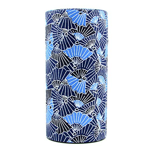 Ryu Mei Aizome Blue Japanese Tea Tin [Type 6]