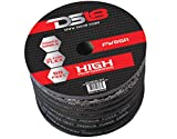 DS18 PW-0GA-50BK-2pk 50-Feet True 0 Gauge Power Cable (Black) - Set of 2