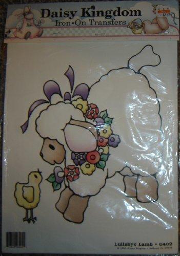 Daisy Kingdom Iron On Transfer 6402 Lullaby Lamb