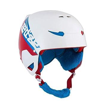 YSH Niños Casco De Esquí Deporte Extremo Chaleco De Protección Chapa Doble Viento Cálido Nieve Cascos