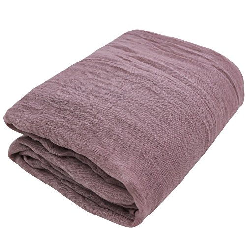 IEFiEL Newborn Shot Baby Cheesecloth Wrap Maternity Photo Prop (Mauve )