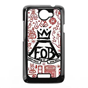 HTC One X Cell Phone Case Black Fall out boy PNS Clear Phone Case