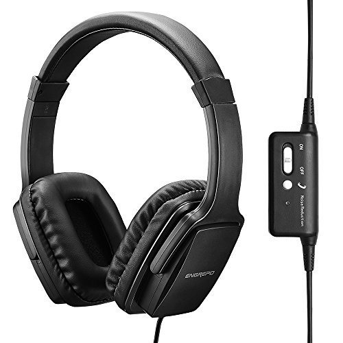 ENGREPO Active Noise Cancelling Headphones With...