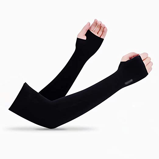 Unisex Protección UV Mangas Cubierta del Brazo Patinaje sobre ...